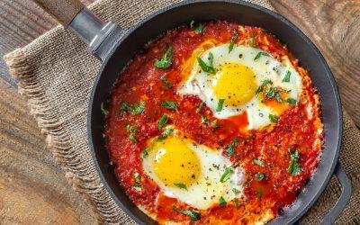 Shakshouka (Moroccan Baked Eggs) Recipe