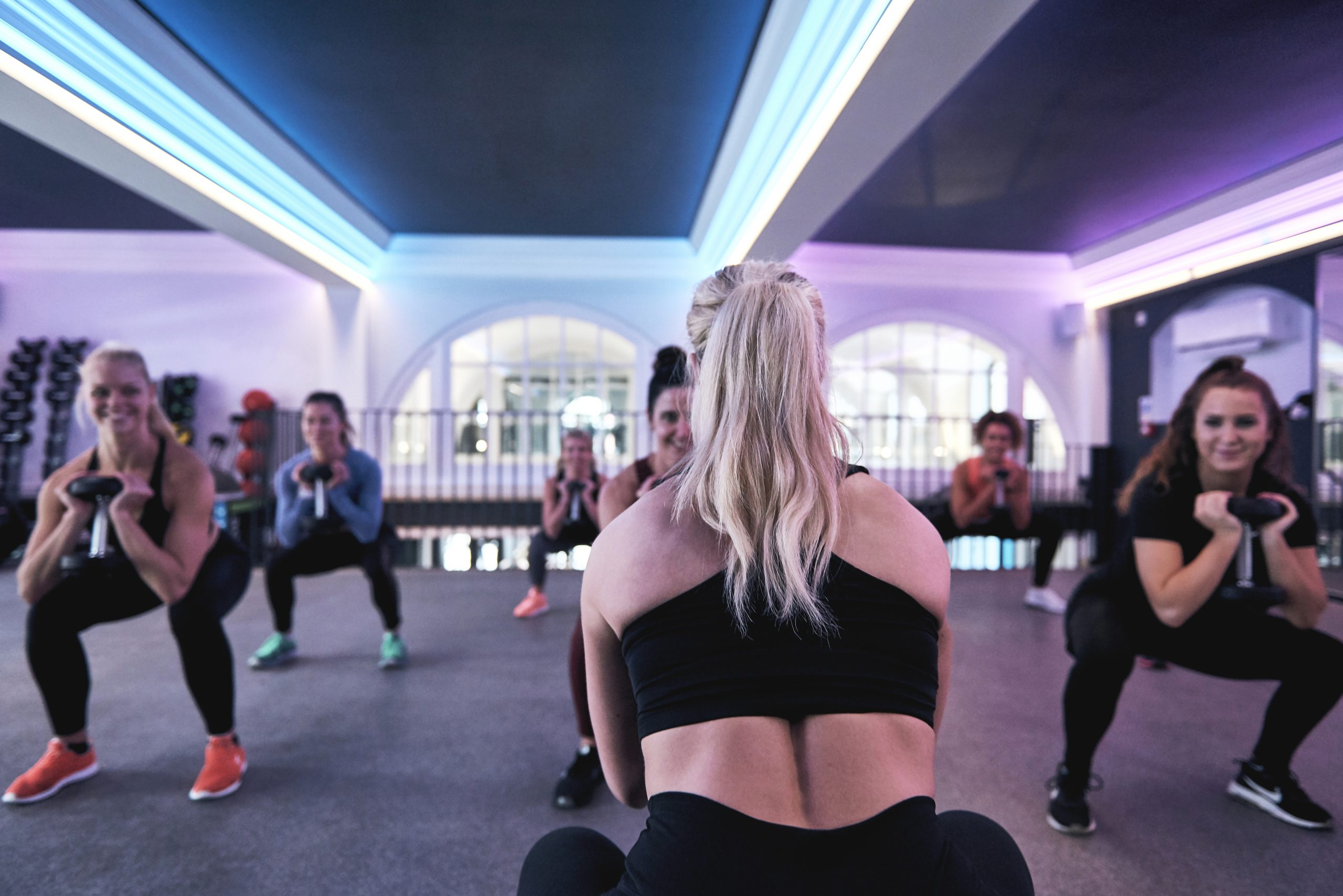 Post natal training in Bristol from Luxe Fitness gym
