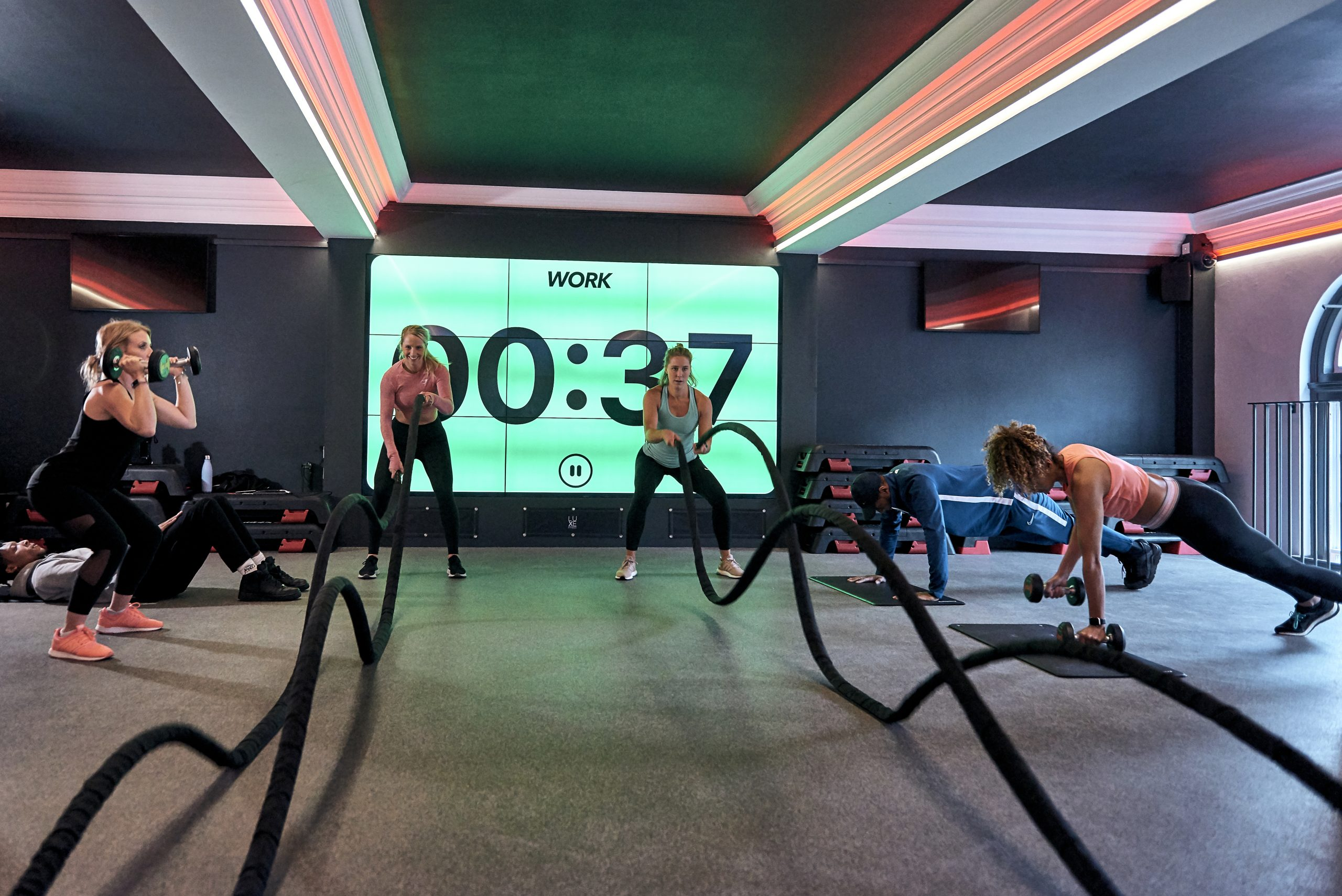 Bootcamp training from Luxe Fitness Bristol