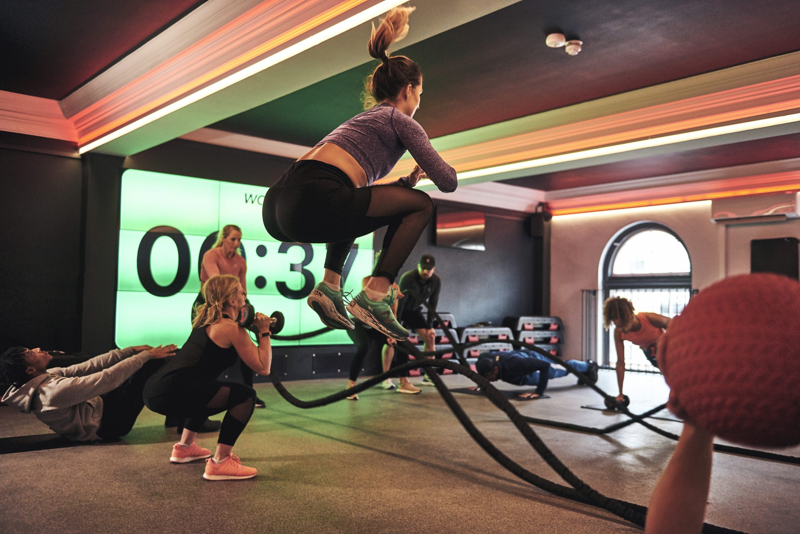 Luxe Fitness gym in Bristol offers circuit classes